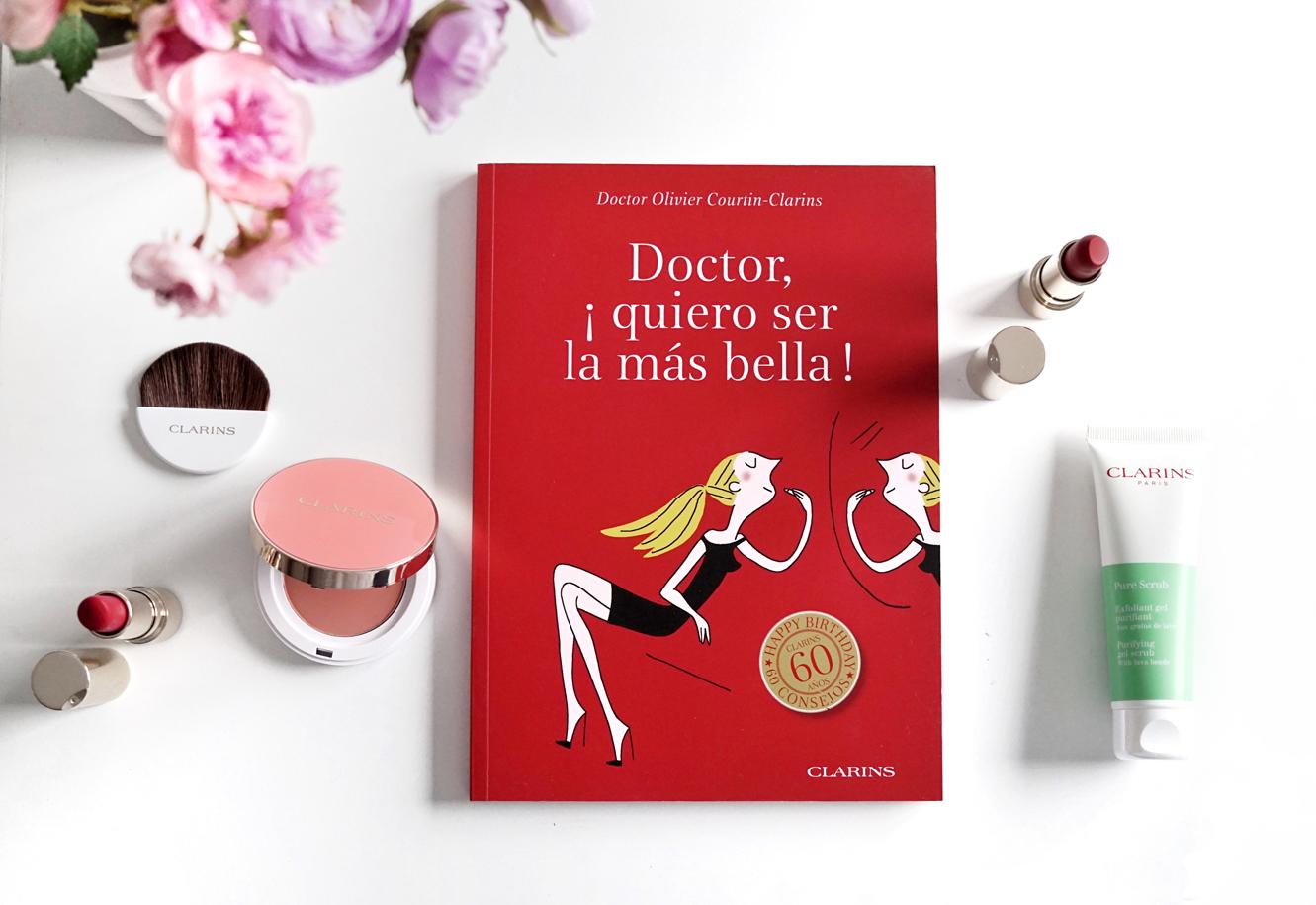 Libro de belleza Clarins