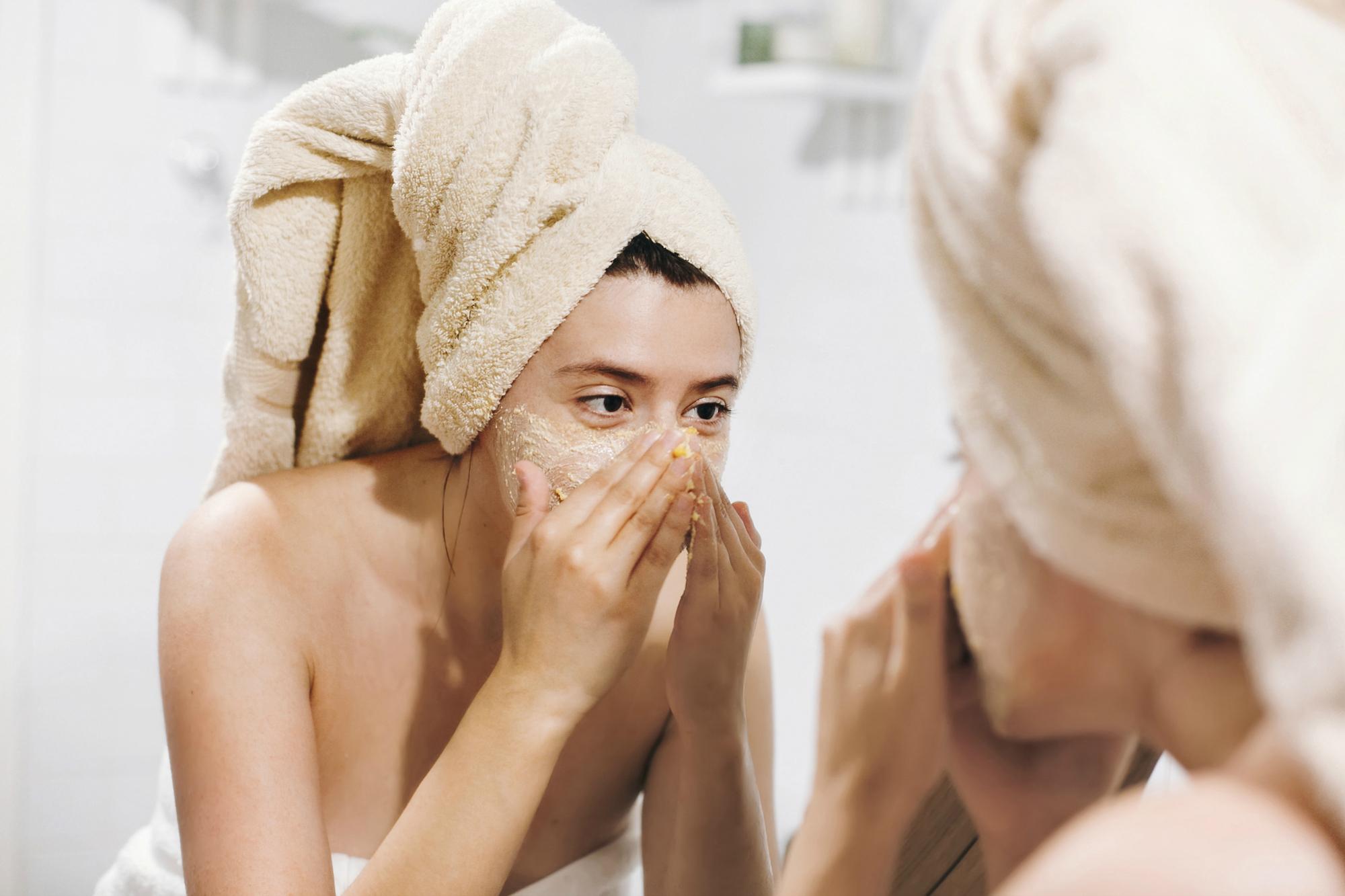 limpiar la piel correctamente