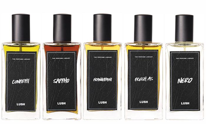 Lush spa perfumes florencia