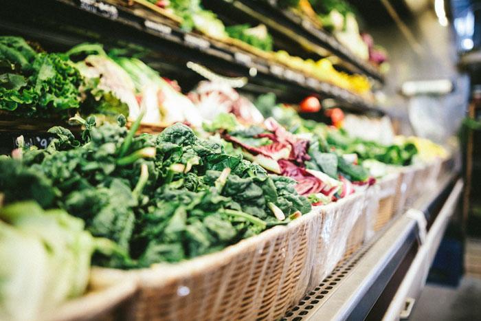 Alimentación saludable supermercado