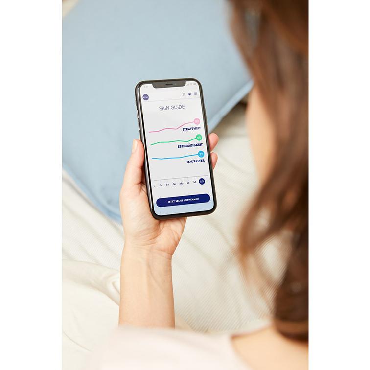 Nivea Skin Guide, para post El futuro en cosmética es digital: Nivea Skin Guide, Perso, Optune y otras cinco innovaciones tecnológicas de la industria de la belleza