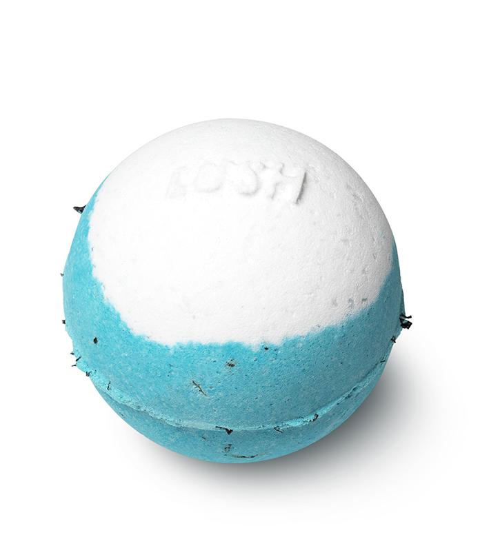 Bomba de baño para pies Big Blue, de Lush.