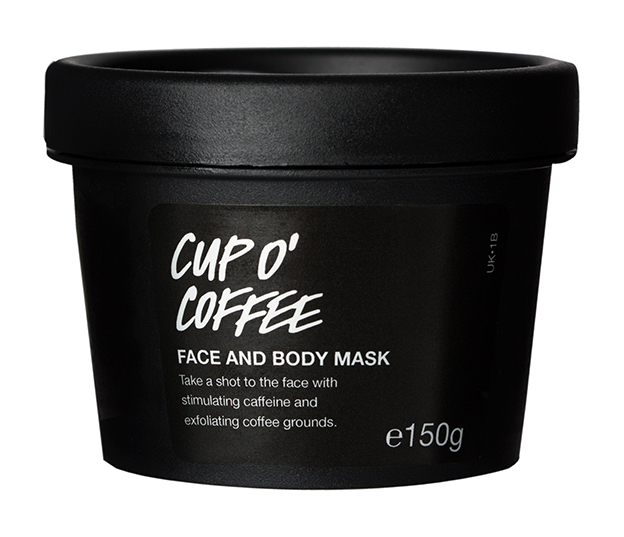 Cup O' Coffee Face and Body Mask, de Lush.