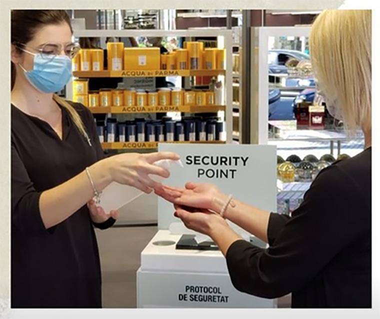 Protocolo de seguridad en Perfumería Júlia