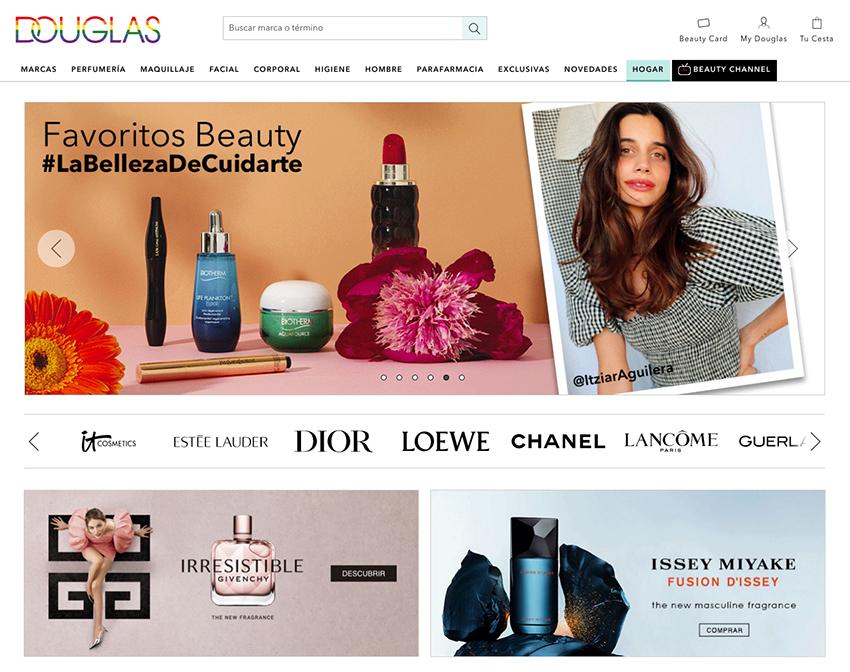 Douglas web e-commerce