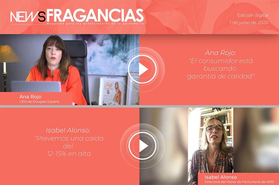NF 3 revista digital: NewsFragancias Edición Digital nº3: entrevista a Ana Rojo, CEO de Douglas, e Isabel Alonso, directora del Panel de Perfumería de NPD