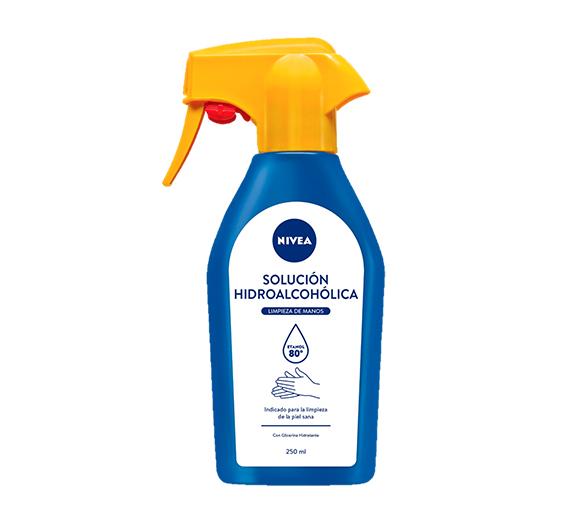 hidroalcohólico de Nivea para mantener las manos limpias fuera de casa