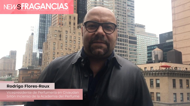 Rodrigo Flores-Roux, vicepresidente de Perfumería en Givaudan y Sillón Incienso en la Academia del Perfume. Entrevista para NewsFragancias