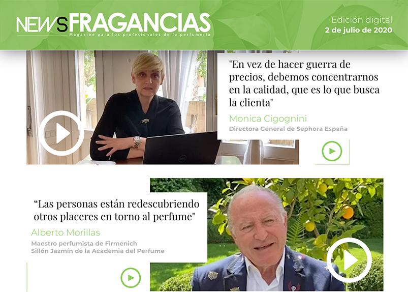 NewsFragancias Edición Digital nº5: entrevista a Monica Cigognini, directora general de Sephora España, y a Alberto Morillas, maestro perfumista