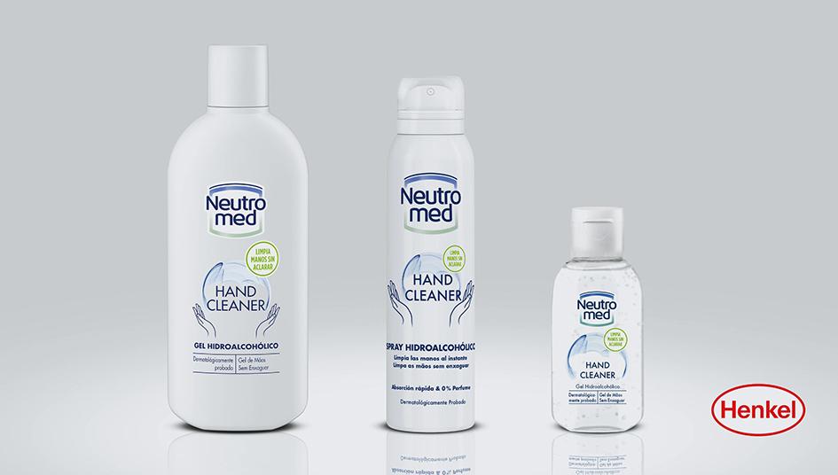 Neutromed, gel hidroalcohólico de Henkel