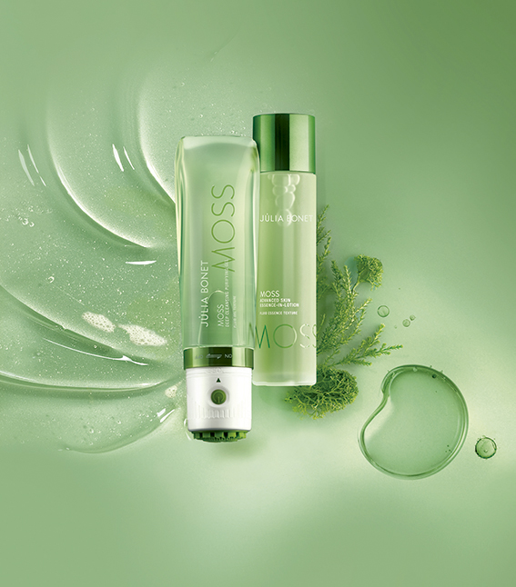 Deep Cleansing Purifying Gel, de la línea Moss Essentials, Júlia Bonet