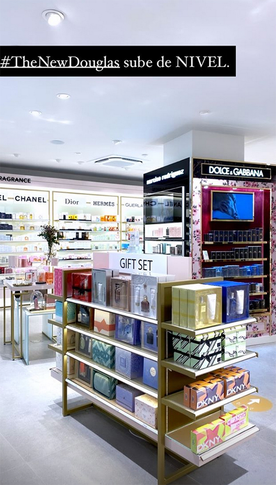 nueva tienda Douglas Gran Via Madrid