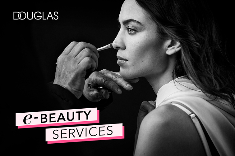 Nuevo servicio de belleza 3.0 de Douglas: e-Beauty Service