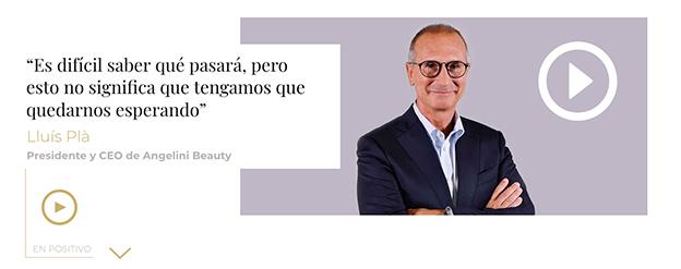 Entrevista en vídeo a Lluís Plà Fernández-Villacañas, Presidente y CEO de Angelini Beauty
