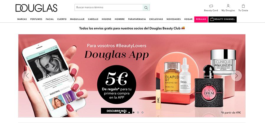 Douglas quiere ser ante todo digital y prepara la expansión de su marketplace