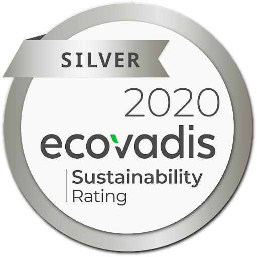 Bordas obtiene Medalla de Plata de Sostenibilidad 2020 de Ecovadis