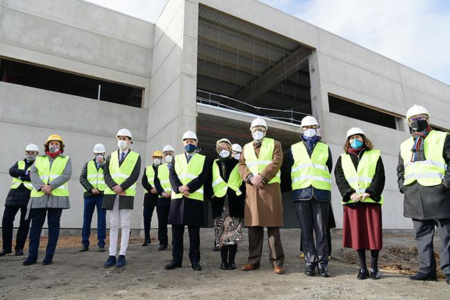 LAS AUTORIDADES E INSTITUCIONES DE CASTILLA LA MANCHA VISITAN LA NUEVA PLANTA DE MIXER & PACK EN CABANILLAS DEL CAMPO