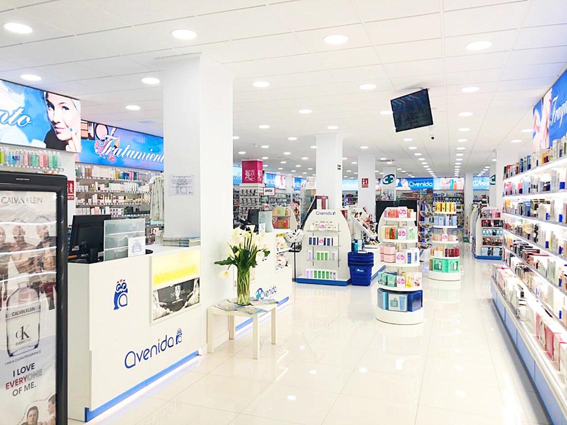 Perfumerías Avenida, Grupo Recio