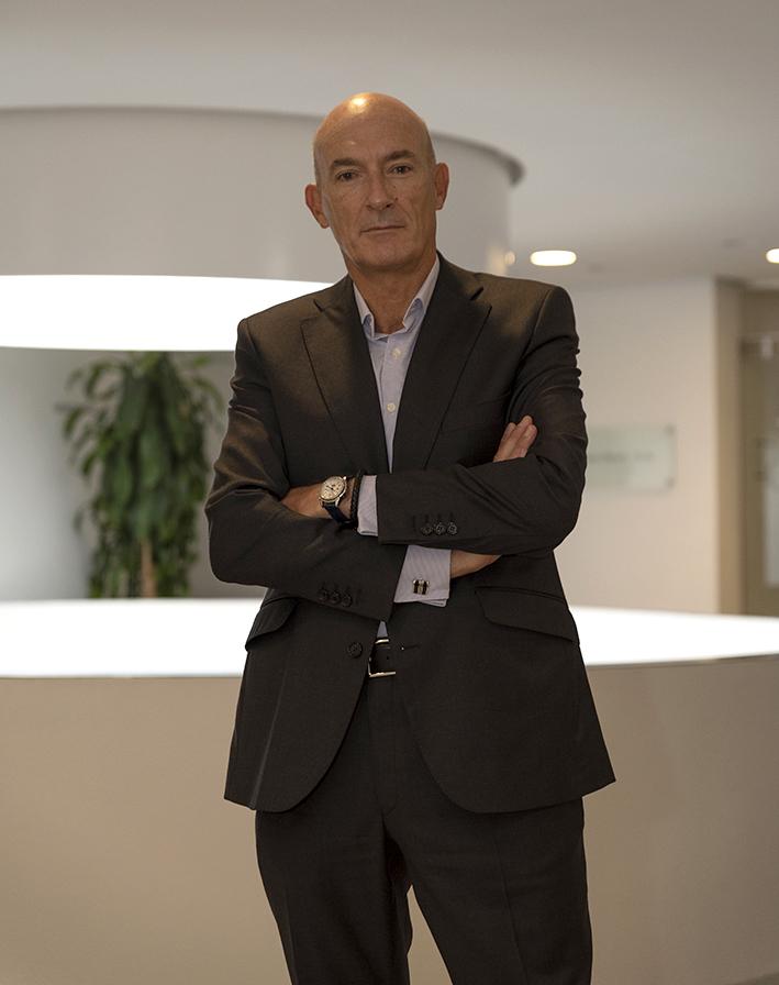 Julio Quiroga, director general de Clarins España