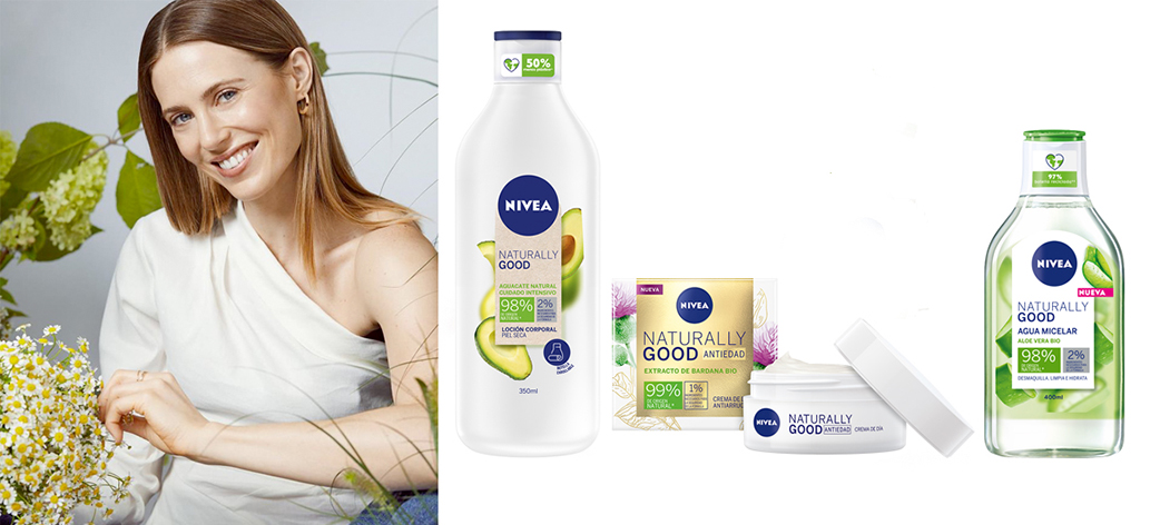 NIVEA NATURALLY GOOD Bodegon