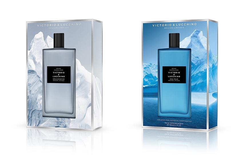 Hielo Antártico y Azul Polar, nuevas Aguas Frescas masculinas de Victorio & Lucchino