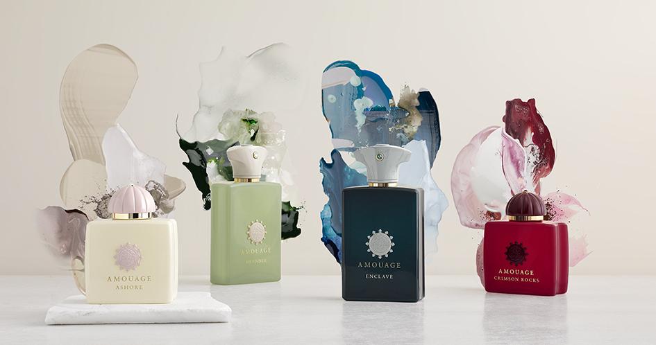 Amouage colección Renaissance perfumes