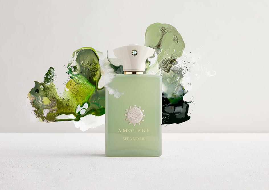 Meander, perfume de la línea Renaissance de Amouage