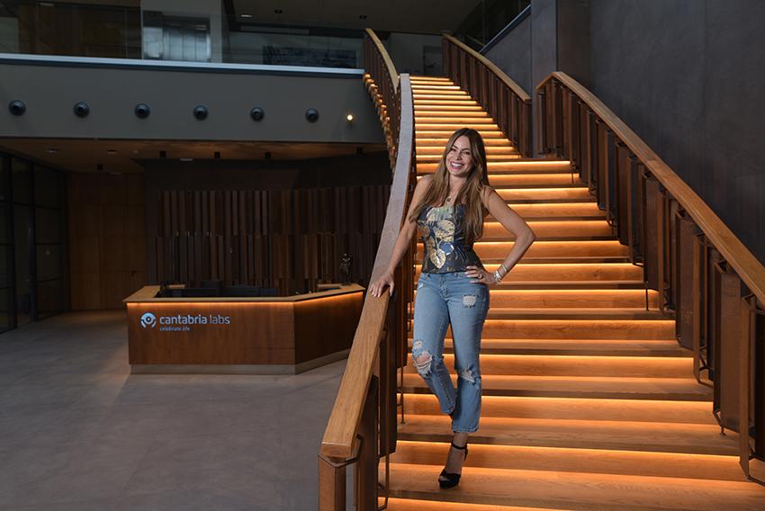 Cantabria Labs desarrolla línea de belleza con Sofía Vergara