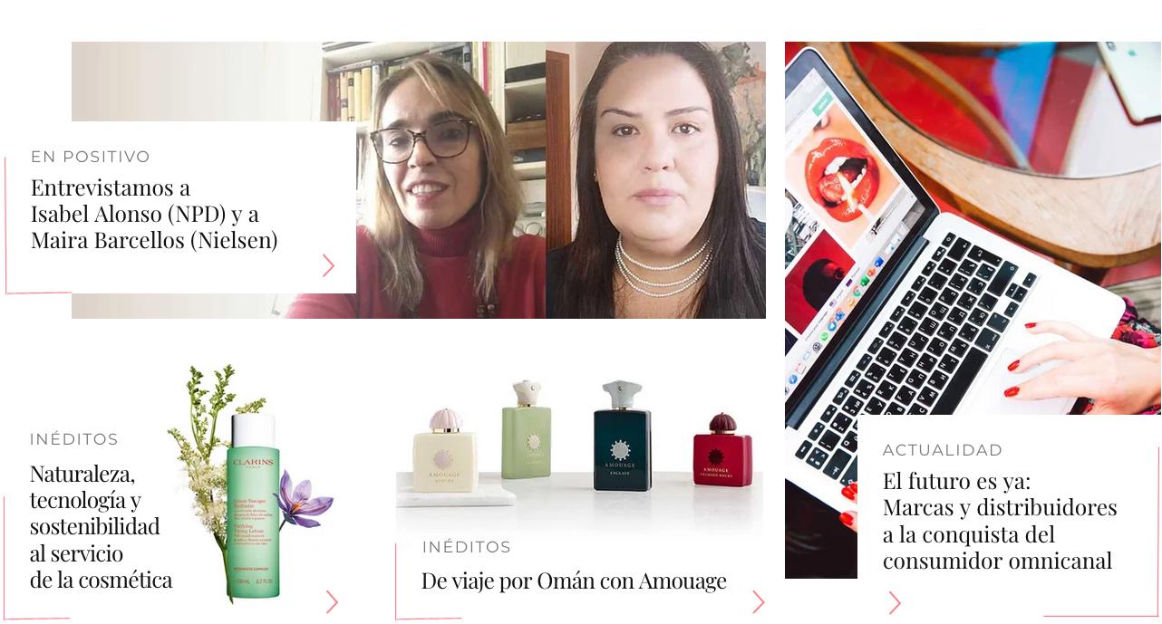 NewsFragancias Edición Digital: entrevista a Isabel Alonso, NPD, y a Maira Barcellos, Nielsen Media