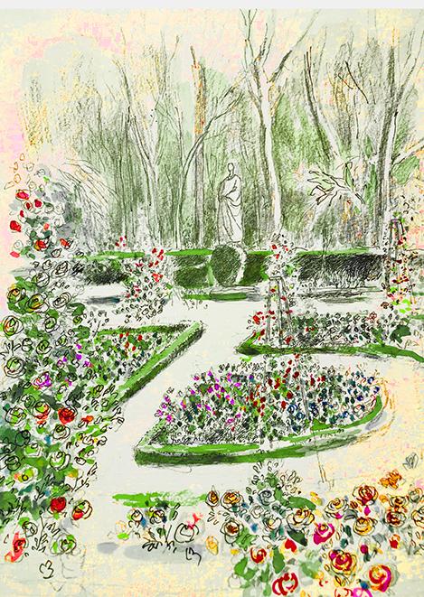 La Rosaleda, Real Jardín Botánico de Madrid.