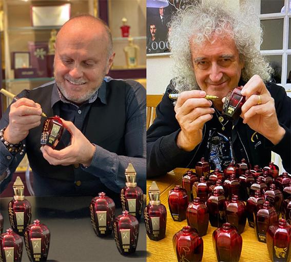 Brian May, el legendario guitarrista de la banda Queen, se ha involucrado personalmente en el desarrollo del perfume Save Me, de Xerjoff.