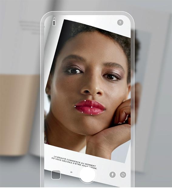 Chanel presenta Lipscanner, app de realidad aumentada