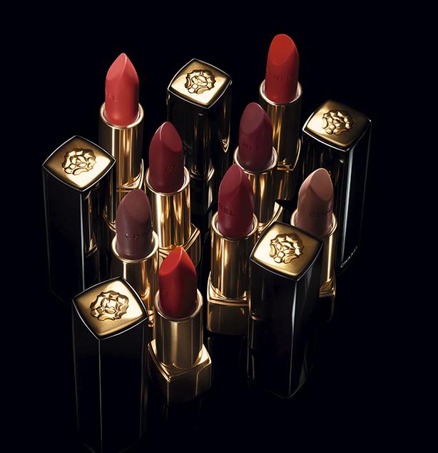 Imagen de la colección de labiales Rouge Allure de Chanel edición Le Lion. Ilustra la noticia: Lipscanner de Chanel, una app que utiliza inteligencia artificial para escoger y probar labiales