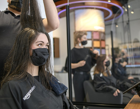 Amazon abre salón de peluquería en Londres