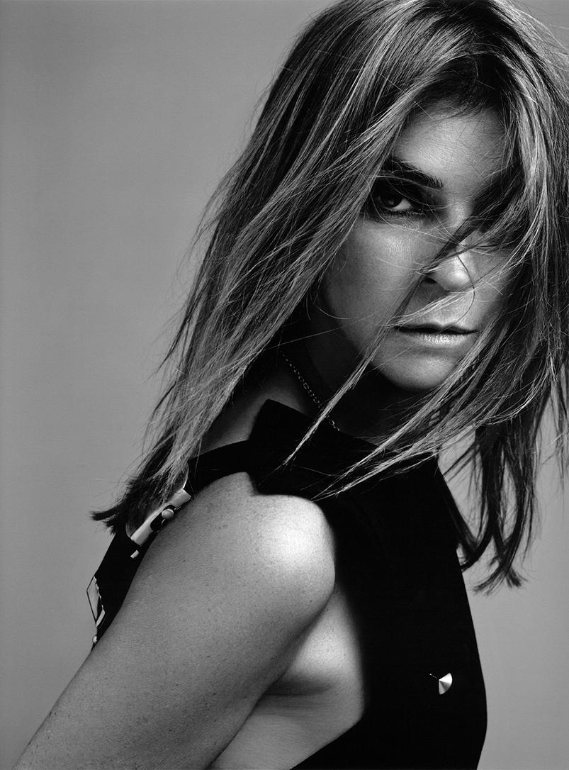 Carine Roitfeld, famosa editora de moda que ahora explora el universo de la perfumería.