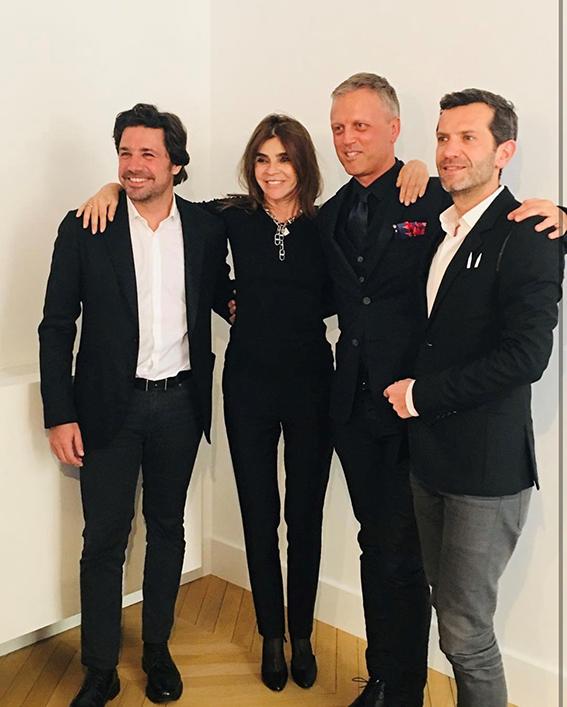 Aurélien Guichard, Pascal Gaurin y Yann Vasnier.