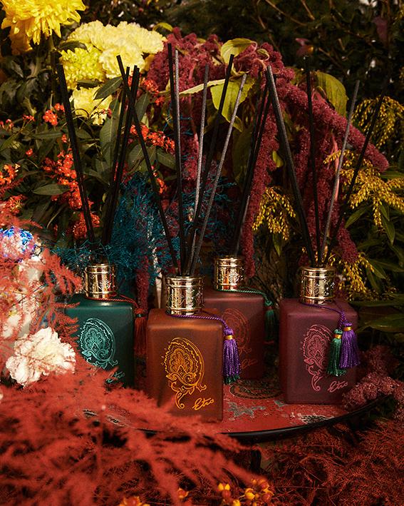 Difusor de perfume para el hogar de Etro, mikados perfumados