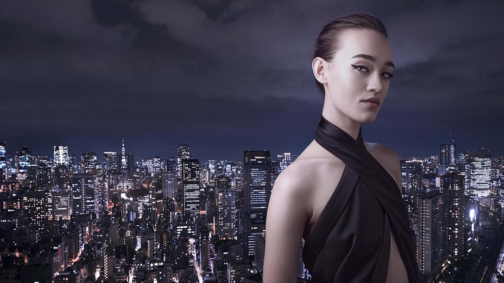 visual de Ginza nuevo perfume femenino de Shiseido