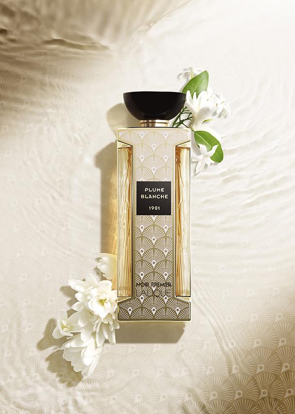 Plume Blanque Noir Premiere Lalique