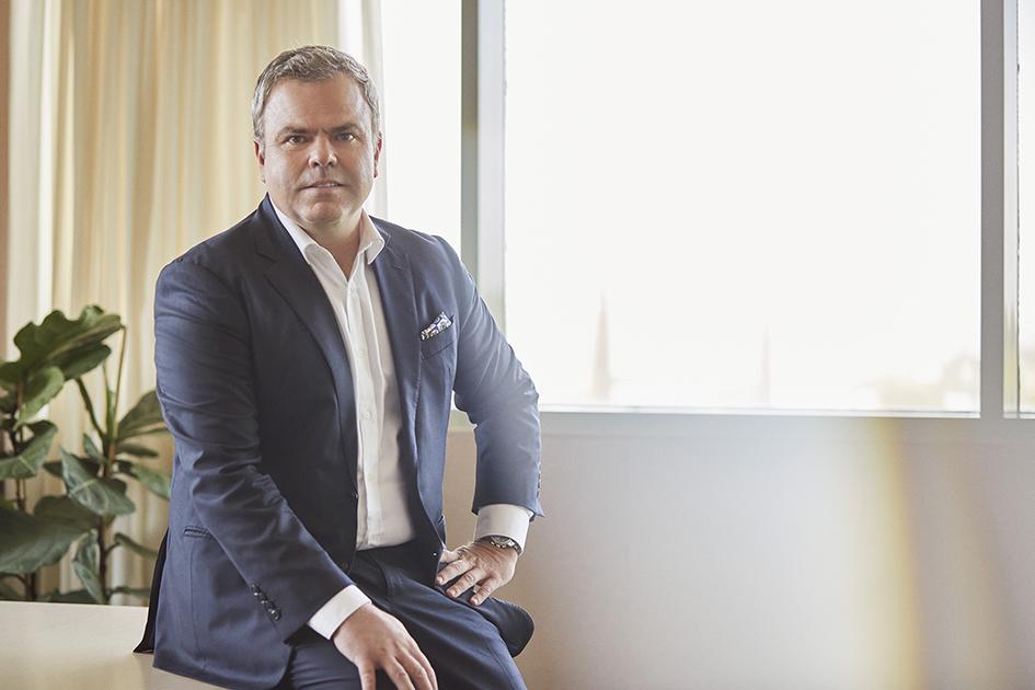Olegario Monegal director de las categorías de cuidado personal y hogar de Eurofragance