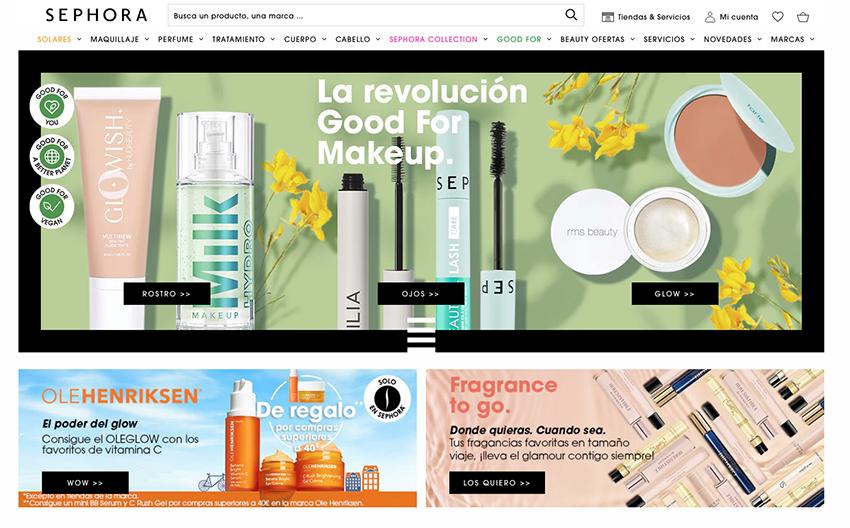 Sephora venderá belleza en Zalando
