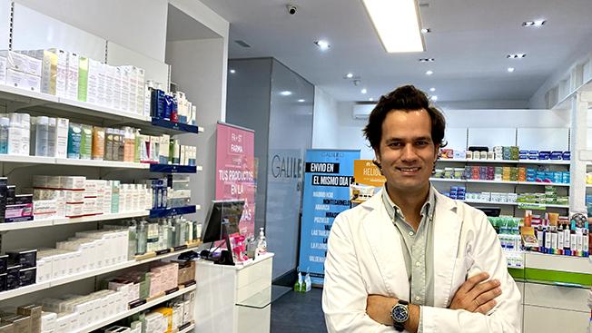 Felipe Martín, Farmacia Galileo 61, Madrid