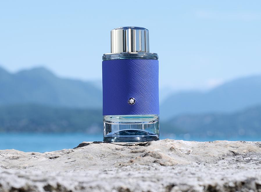Montblanc Explorer Ultra Blue, fragancia masculina fresca e intensa