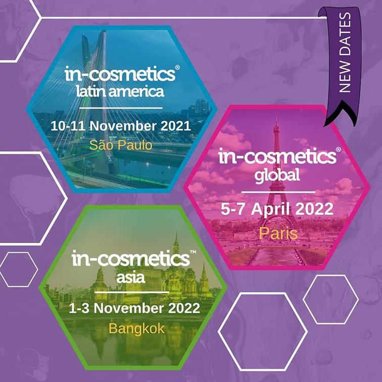 In-Cosmetics pospone ferias con fecha para 2022