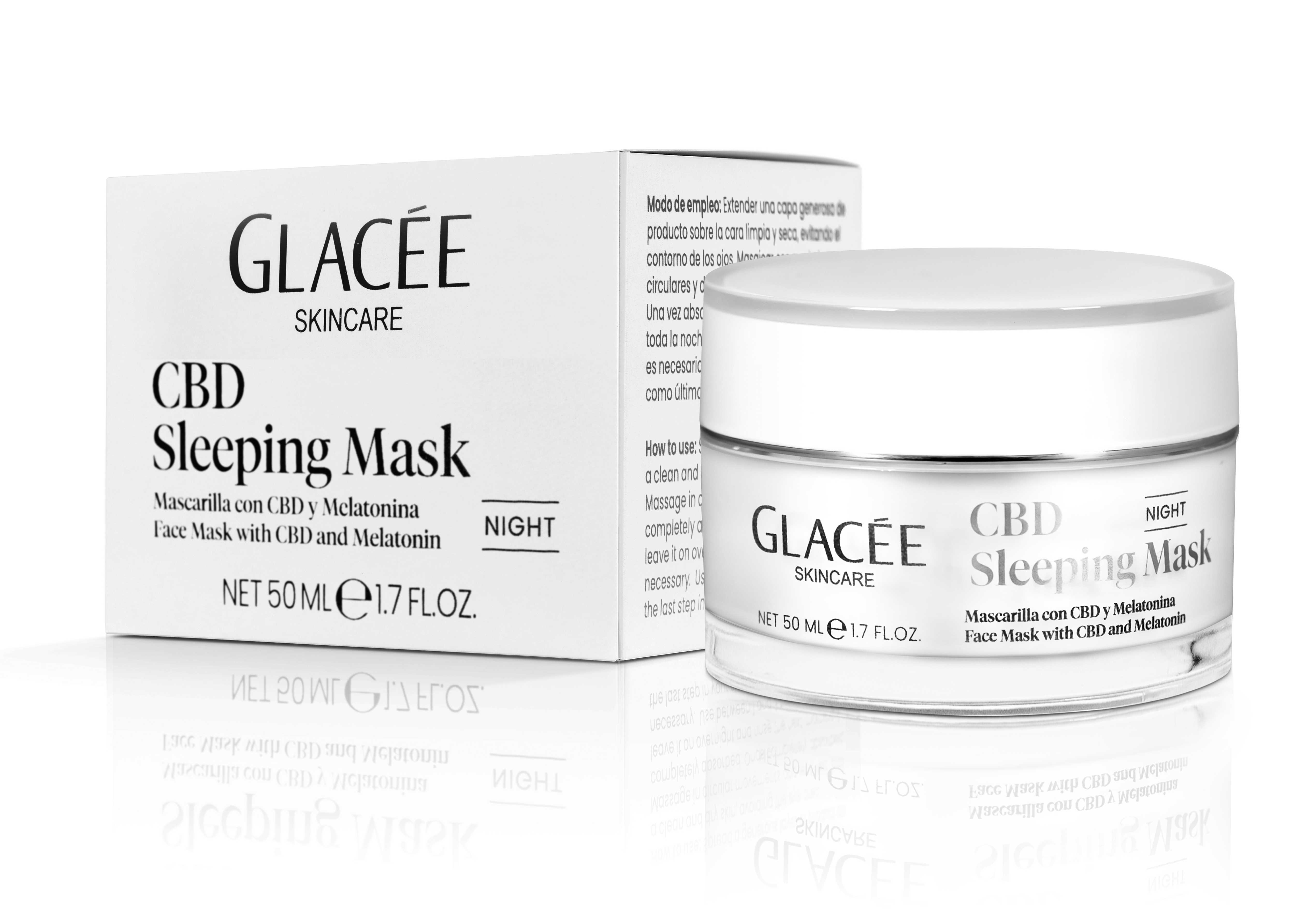 CBD Sleeping Mask Glacée Skincare
