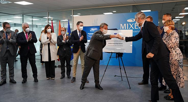 Mixer & Pack inaugura su nueva fábrica en Cabanillas del Campo