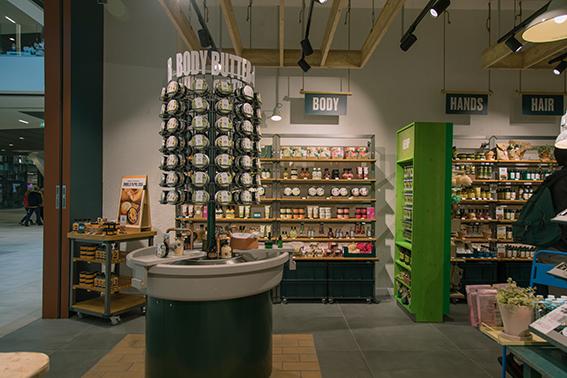 La experiencia de producto en tienda cobra una nueva dimensión en el nuevo establecimiento de Vigo de The Body Shop.